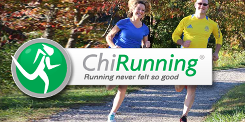 chi running logo with runners