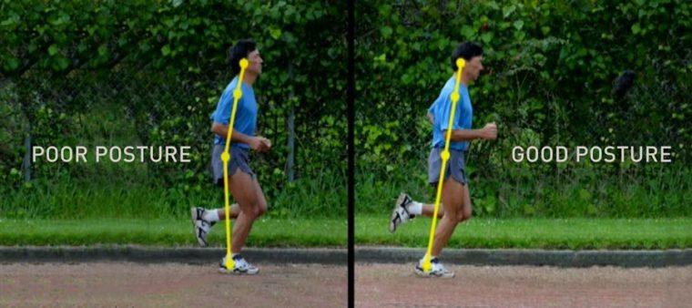 chi running running form danny posture
